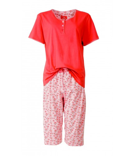 TEPYD1401B Tenderness Dames Capri Pyjama